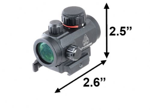 "Leapers UTG 2.6"" Micro Dot Sight Red 4 MOA Integral QD Mount SCP-DS3026W"